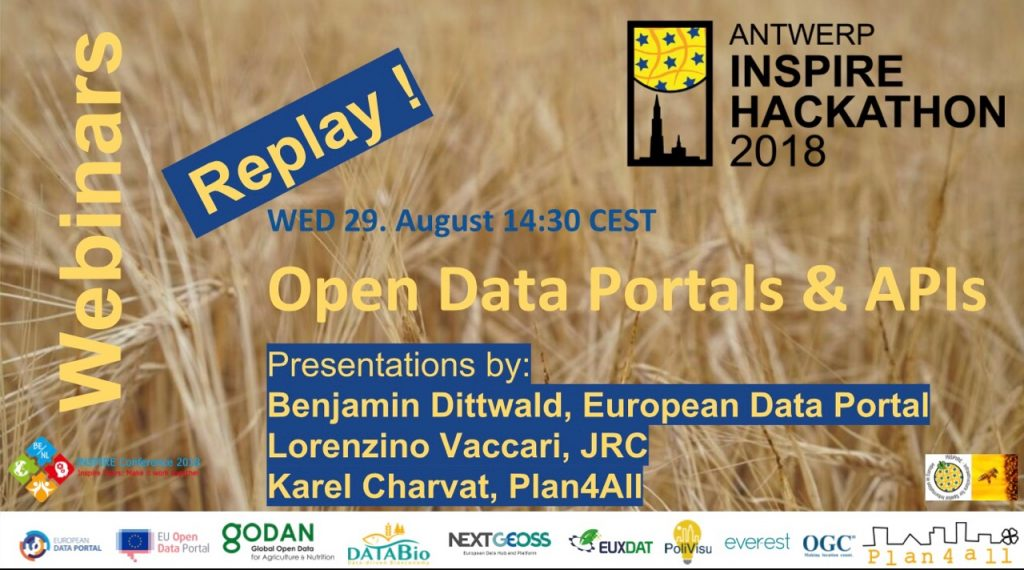 Another Series of the INSPIRE Hackathon Webinars | Plan4all