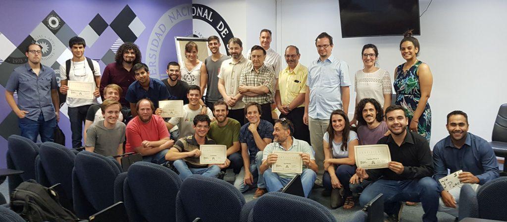 San Juan Hackathon winning ceremony